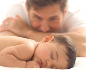 Paternity-Test DNA fatherhood father and child